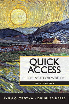 Quick Access Reference for Writers (Spiral bound)