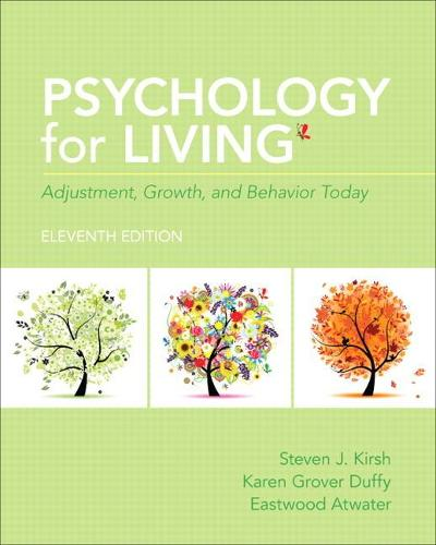 Psychology for Living: Adjustment, Growth, and Behavior Today (Paperback)