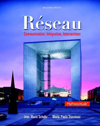 Text Audio CDs for Reseau: Communication, Integration, Intersections (Paperback)