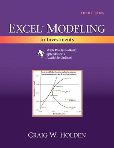 Excel Modeling in Investments (Paperback)