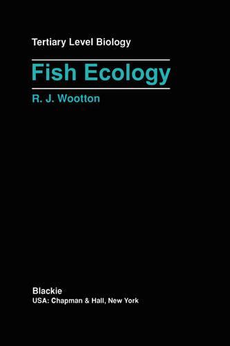 Fish Ecology - Tertiary Level Biology (Paperback)