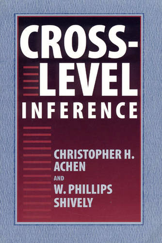 Cross-level Inference (Paperback)