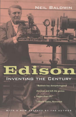 Edison: Inventing the Century (Paperback)