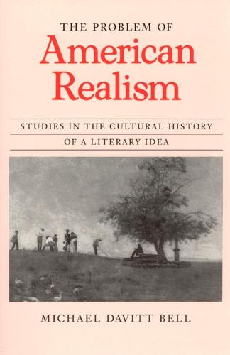 The Problem of American Realism: Studies in the Cultural History of a Literary Idea (Hardback)