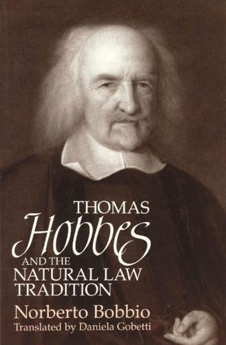 Thomas Hobbes and the Natural Law Tradition (Paperback)