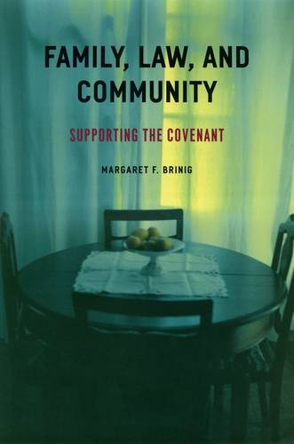 Family, Law, and Community: Supporting the Covenant (Hardback)