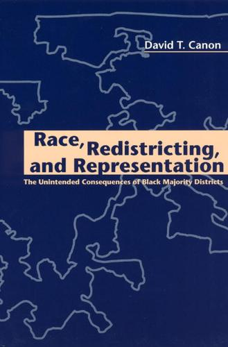 Race, Redistricting and Representation: The Unintended Consequences of Black Majority Districts - American Politics & Political Economy S. (Hardback)