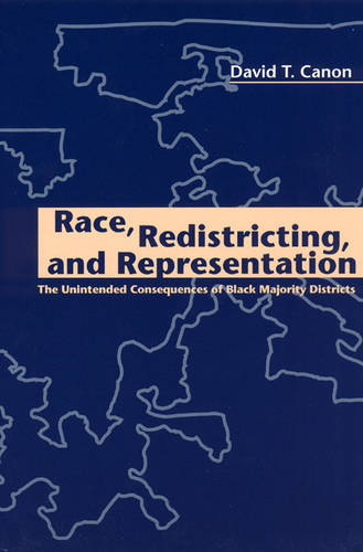 Race, Redistricting and Representation: The Unintended Consequences of Black Majority Districts - American Politics & Political Economy S. (Paperback)