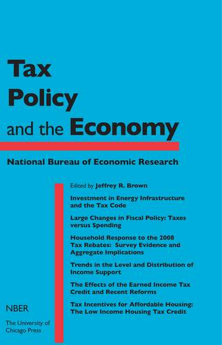Tax Policy and the Economy: v.27 - National Bureau of Economic Research Tax Policy and the Economy (Hardback)