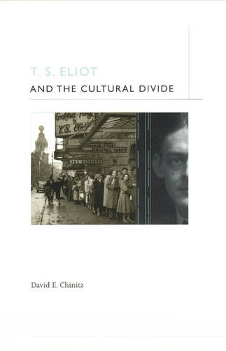 T.S. Eliot and the Cultural Divide (Hardback)