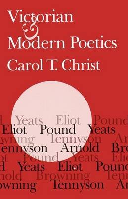 Victorian and Modern Poetics (Paperback)