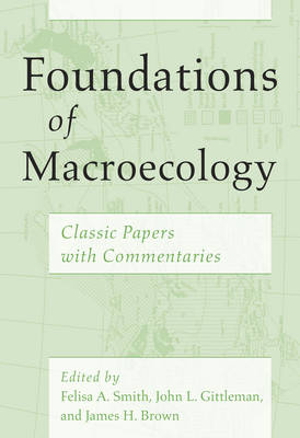 Foundations of Macroecology (Paperback)