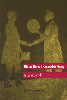 Given Time: Counterfeit Money v.1 (Paperback)