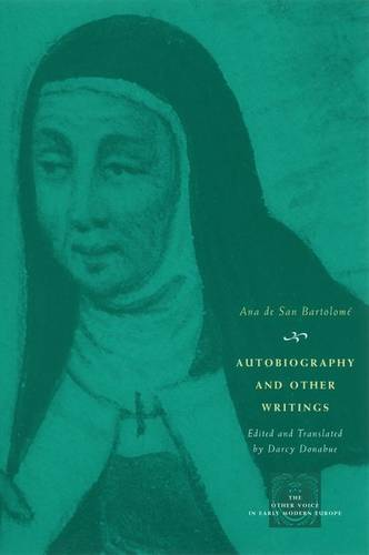 Autobiography and Other Writings - Other Voice in Early Modern Europe (Hardback)