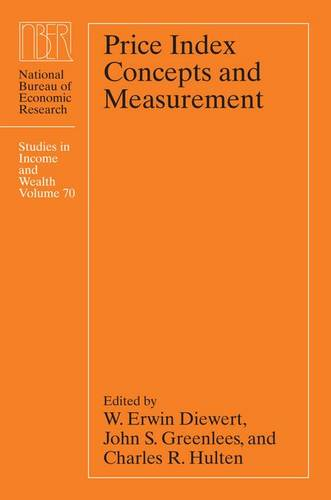 Price Index Concepts and Measurement - National Bureau of Economic Research Studies in Income and Wealth (Hardback)