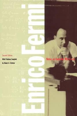 Notes on Quantum Mechanics (Paperback)