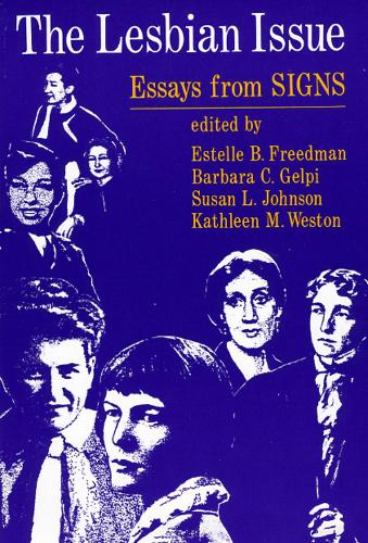 """Lesbian Issue: Essays from """"Signs"""" (Paperback)"""