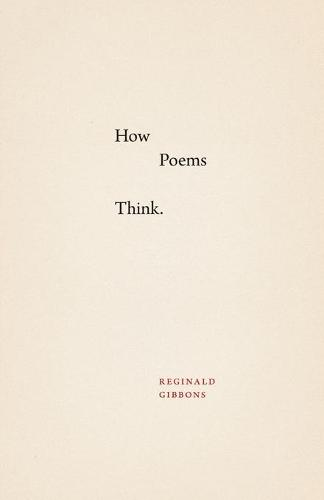 How Poems Think (Paperback)