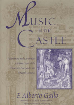 Music in the Castle: Troubadours, Books and Orators in Italian Courts of the Thirteenth, Fourteenth and Fifteenth Centuries (Paperback)