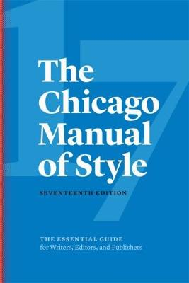 The Chicago Manual of Style (Hardback)