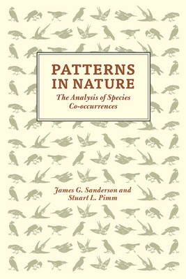 Patterns in Nature: The Analysis of Species Co-Occurrences (Hardback)