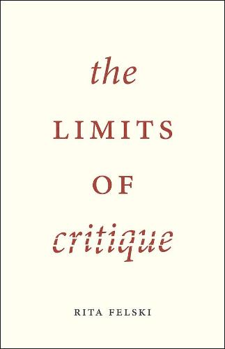 The Limits of Critique (Hardback)