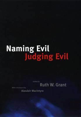 Naming Evil, Judging Evil (Hardback)