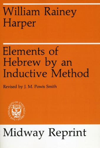 Elements of Hebrew by an Inductive Method (Paperback)