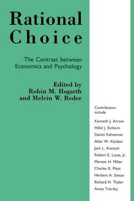 Rational Choice: Contrast Between Economics and Psychology (Paperback)