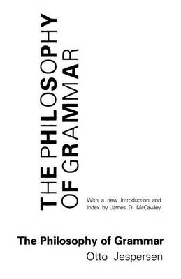 The Philosophy of Grammar (Paperback)