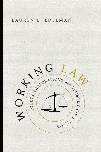 Working Law: Courts, Corporations, and Symbolic Civil Rights - Chicago Series in Law and Society (Hardback)