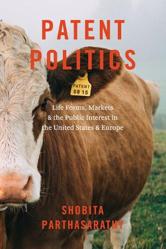 Patent Politics: Life Forms, Markets, and the Public Interest in the United States and Europe (Hardback)