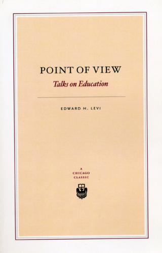 Point of View: Talks on Education (Paperback)