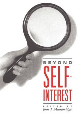 Beyond Self-interest (Paperback)