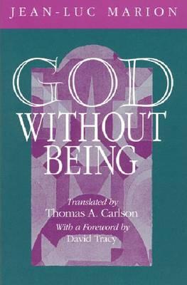 God without Being: Hors-texte - Religion and Postmodernism (Paperback)
