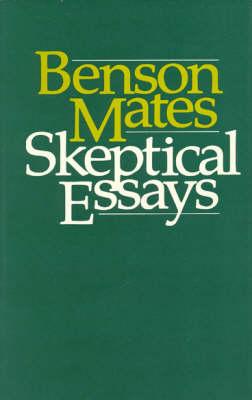 Sceptical Essays (Hardback)