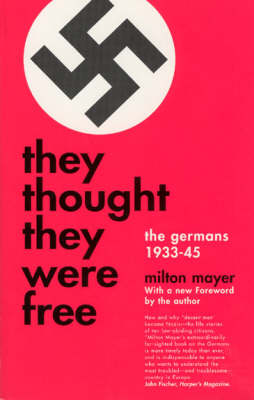 They Thought They Were Free - Phoenix Books (Paperback)