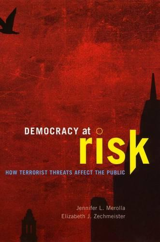 Democracy at Risk: How Terrorist Threats Affect the Public - Chicago Studies in American Politics (Hardback)