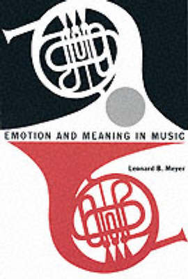 Emotion and Meaning in Music - Phoenix Books (Paperback)