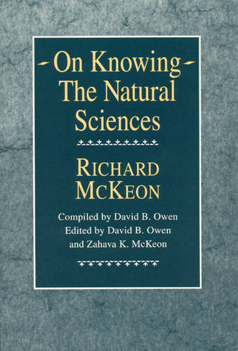 On Knowing: Natural Sciences (Paperback)