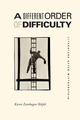 A Different Order of Difficulty: Literature After Wittgenstein (Hardback)