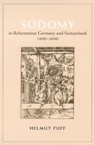 Sodomy in Reformation Germany and Switzerland, 1400-1600 - Chicago series on sexuality, history & society (Hardback)