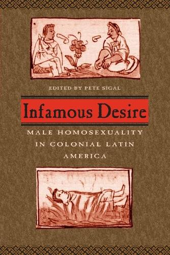Infamous Desire: Male Homosexuality in Colonial Latin America (Paperback)