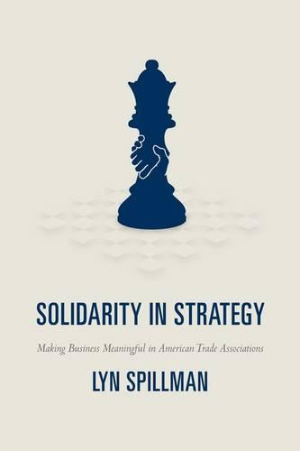 Solidarity in Strategy: Making Business Meaningful in American Trade Associations (Hardback)