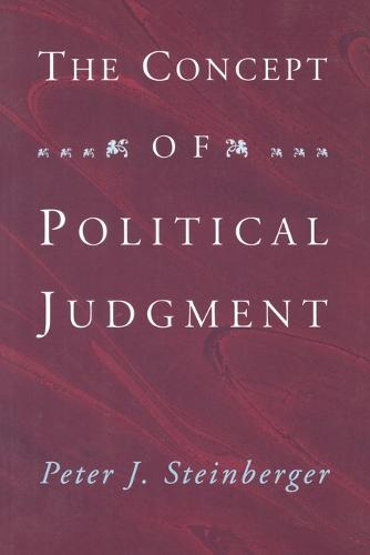 The Concept of Political Judgment (Paperback)