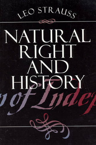 Natural Right and History - Phoenix Books (Paperback)