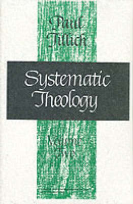 Systematic Theology: Existence and the Christ v.2 (Paperback)