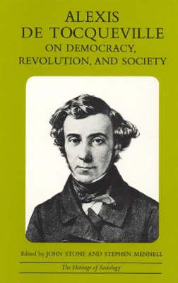 On Democracy, Revolution and Society - Heritage of Society S. (Paperback)