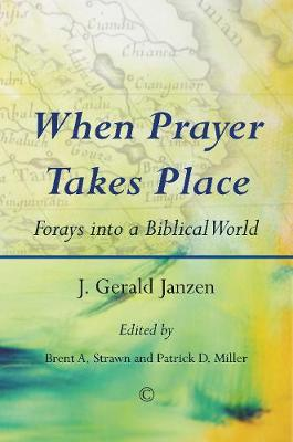 When Prayer Takes Place: Forays into a Biblical World (Paperback)