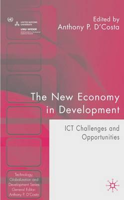 The New Economy in Development: ICT Challenges and Opportunities - Technology, Globalization and Development (Hardback)